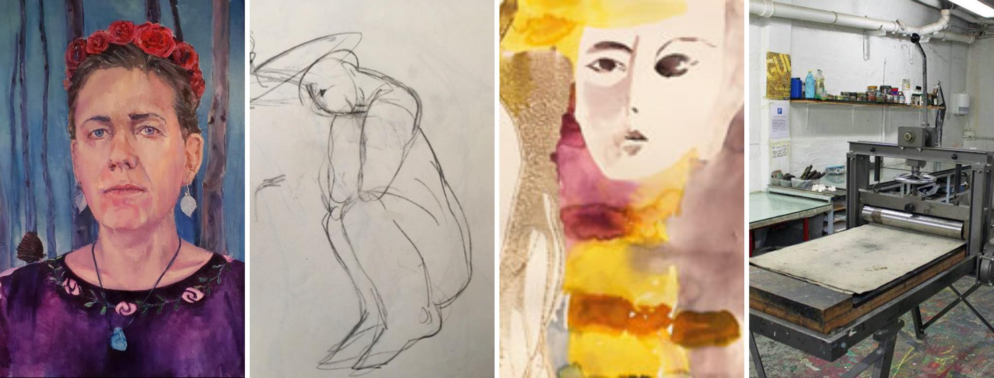 Kunst sommerkurser 2021 Paarup Aftenskole